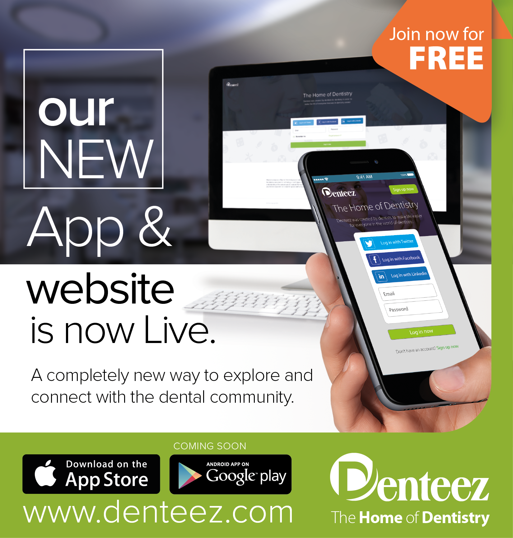 Professional networking for dentistry - www.denteez.com #dentistry #Denteez #DentalApp