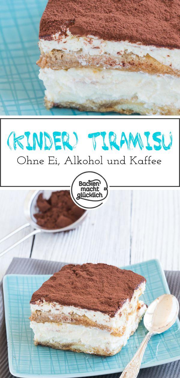Photo of Tiramisu without egg, alcohol, coffee Baking makes you happy