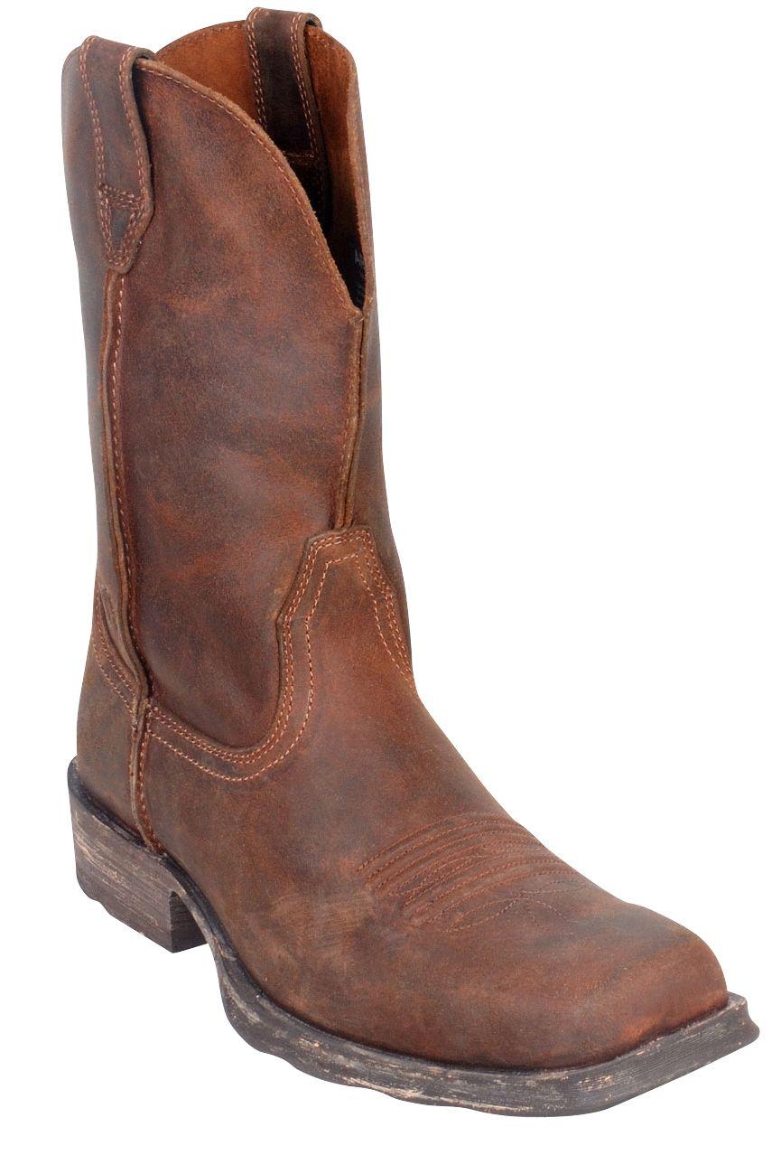 15fff5b39b8 Mens Rambler Wide Square Toe Cowboy Boots | valleyvet.com | fashion ...