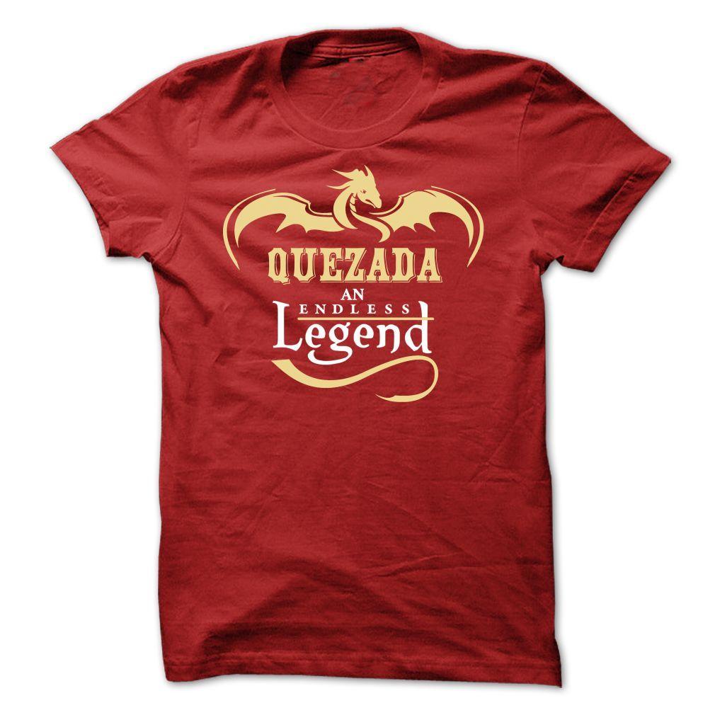 QUEZADA Tee | Names T-Shirts and Hoodies | Pinterest | Shirt designs ...