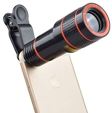 Cell Phone Camera Lens 12X Zoom Telephoto Lens Phone