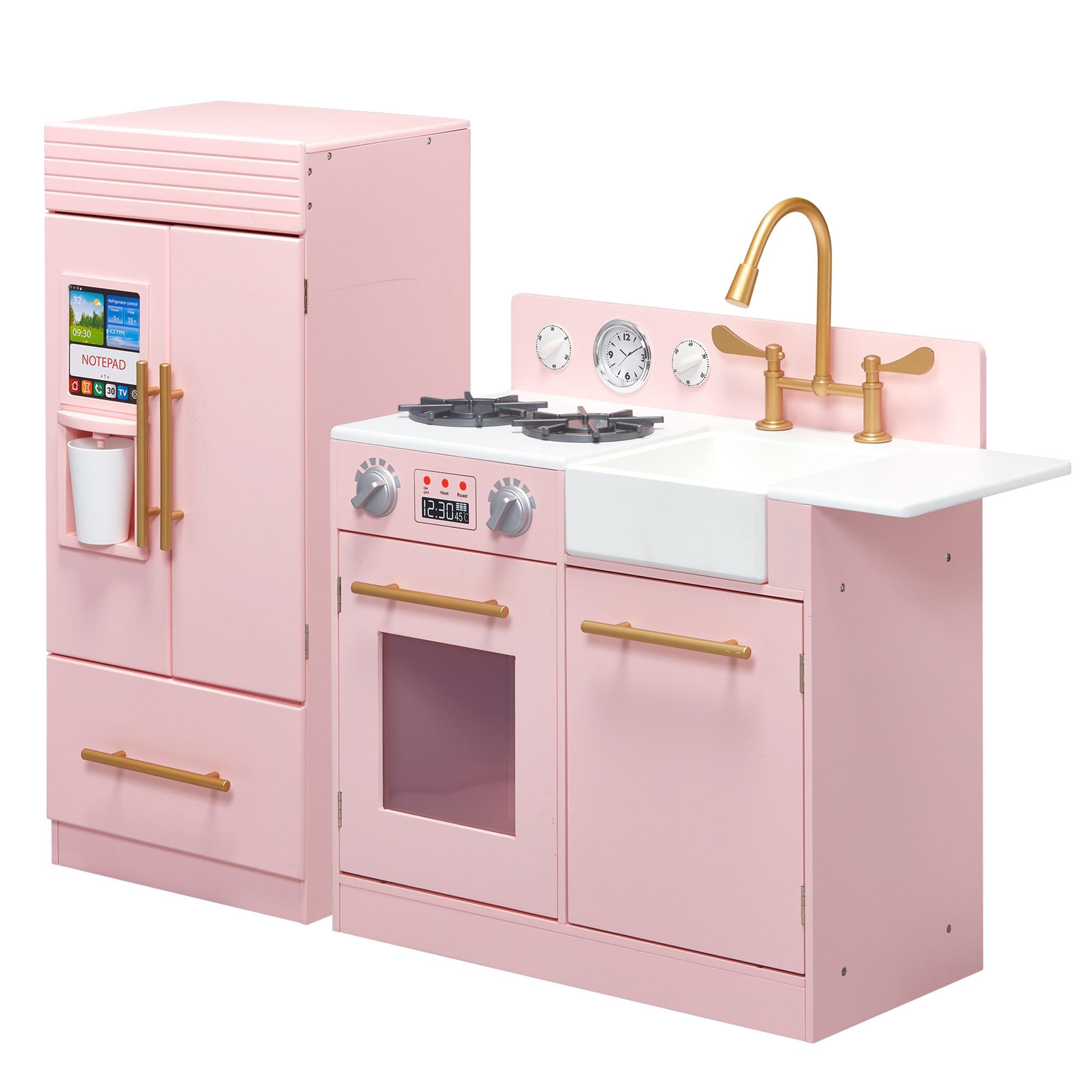 ff88d34506a Teamson Kids Urban Luxury Play Kitchen - Pink