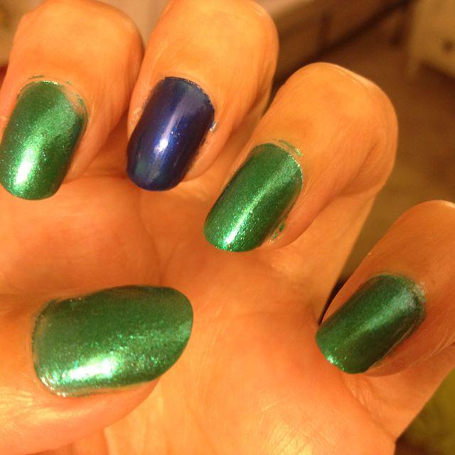 Love the multi nail color trend. So fun!