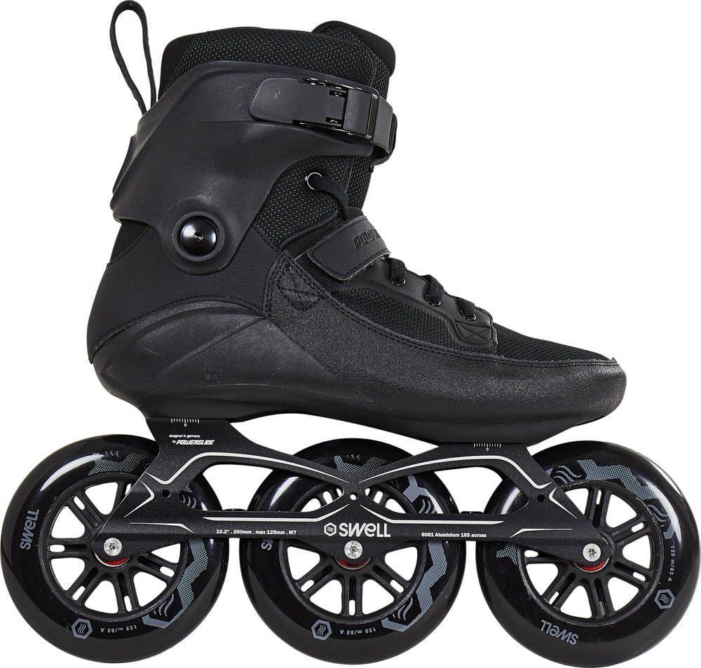 powerslide swell 125 schwarz inline skates rollerblading. Black Bedroom Furniture Sets. Home Design Ideas