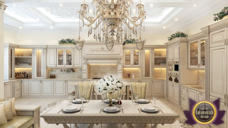 Kitchen Design In Dubai Luxury Kitchen Design Photo 1 Luxury