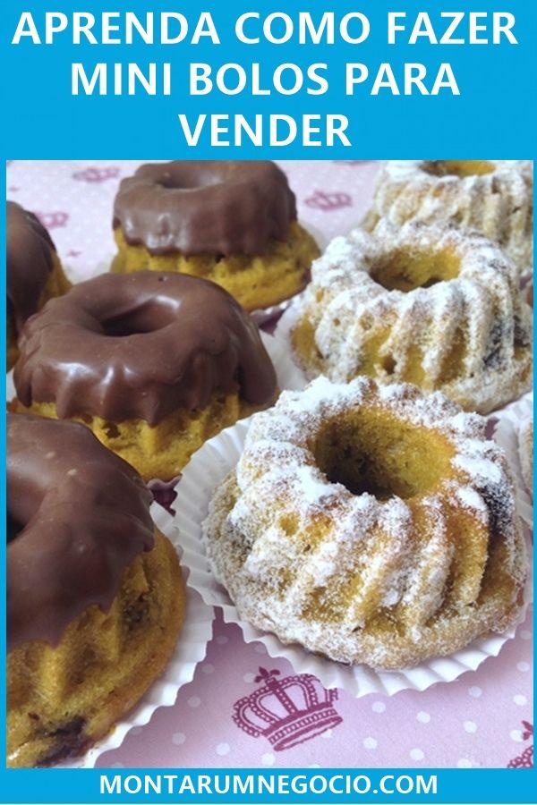 Como fazer mini bolos para vender