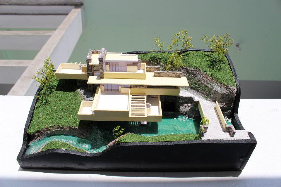 Proyectos importantes de arquitectura maquetas modelos a for Casa moderna maqueta