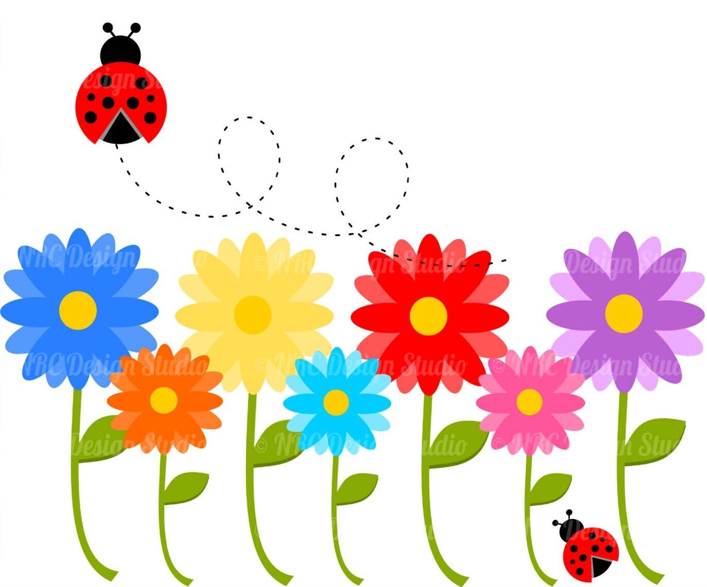 Flowers And Grass Png Picture Clipart - Spring Flowers Transparent  Background - Free Transparent PNG Clipart Images Download