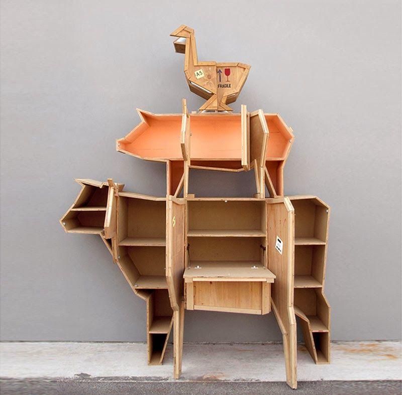 La mini serie de muebles con forma de animales de granja de marama para seletti en 2019 my - La forma muebles ...