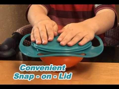 Gravity Bowl no spill, gravity bowl | cool kids'products | pinterest | bowls