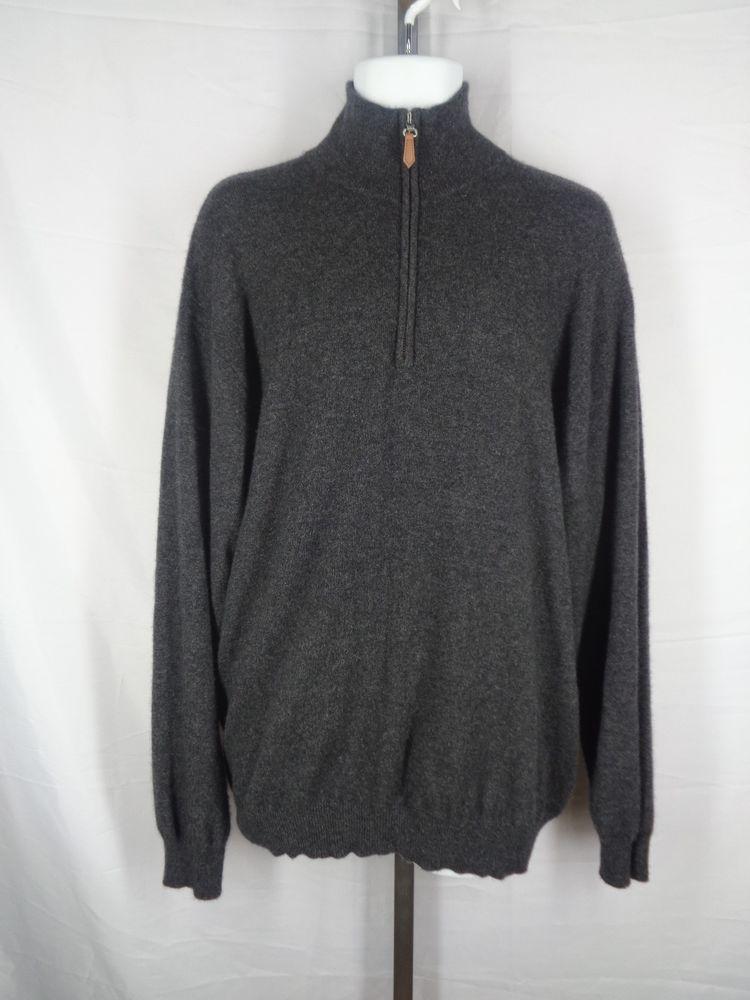 Alan Flusser Cashmere Sweater Men's Size XXL 2XL | Cashmere ...