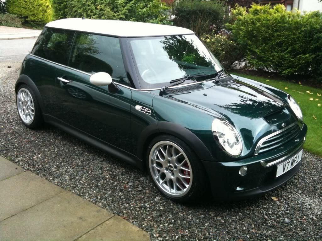 British racing green metallic 4 door mini when i win the lottery pinterest fiat 500 cars and fiat