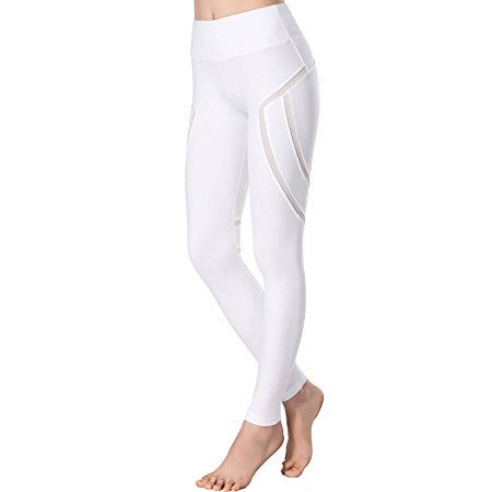 Amazon.com: Beepeak Women's Long Mesh Workout Sports Tights Gym Yoga Pants leggings: Sports & Outdoors