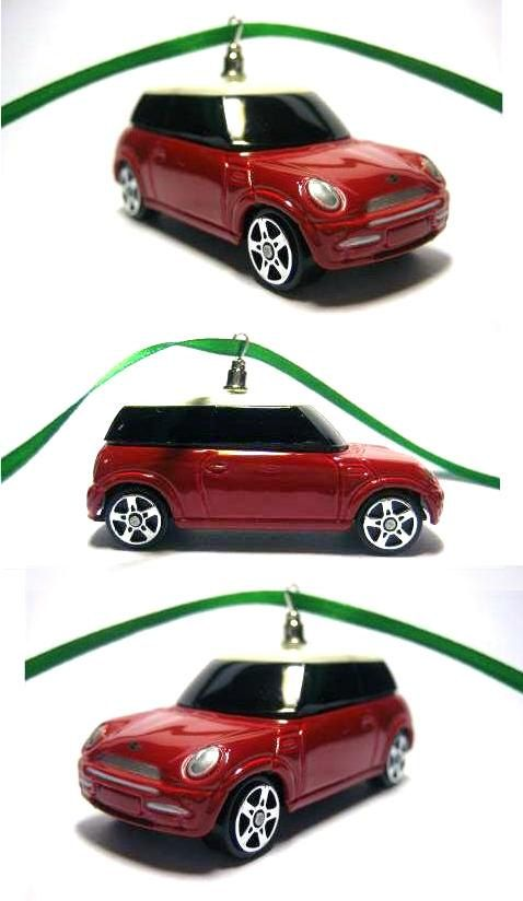 Mini Cooper Car Christmas Tree Ornament by thefrogprince65 on Etsy - Mini Cooper Car Christmas Tree Ornament Collectible Cars Christmas