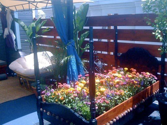 The Diy Balcony Flower Bed Balcony Flowers Flower