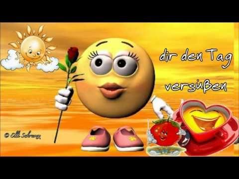 Ich Wünsche Dir Einen Fröhlichen Tag In Den Farben Des