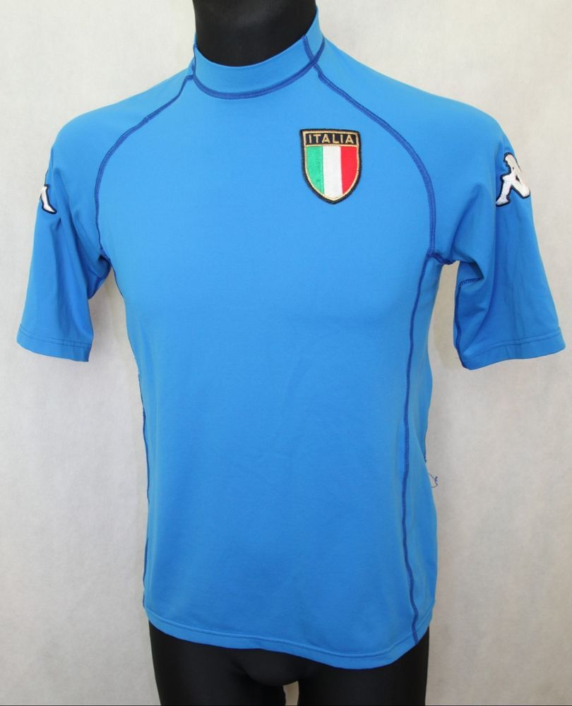 1f5c039ee Italy 2000 2002 Kappa Football World Cup Shirt Jersey Maglia Calcio Totti  size M  Kappa