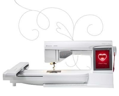 Designer Ruby Tm Designed And Engineered In Sweden The DeSiGner Impressive Husqvarna Designer Ruby Sewing Machine