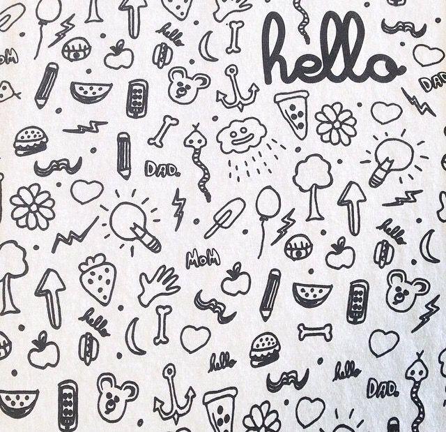 Pin by amanda on sketchbooks pinterest doodles - Dibujos sencillos ...