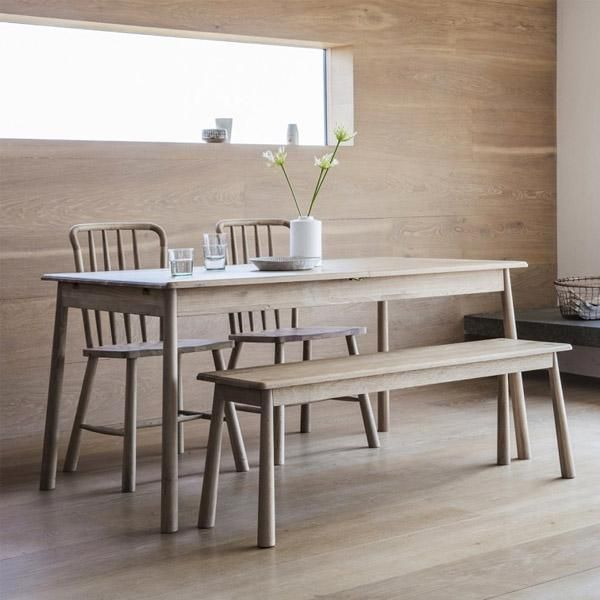 Solid Oak Dining TableOak SetsModern Sets5 Piece SetPainted ChairsTable And ChairsC TablePaint TablesHudson Furniture
