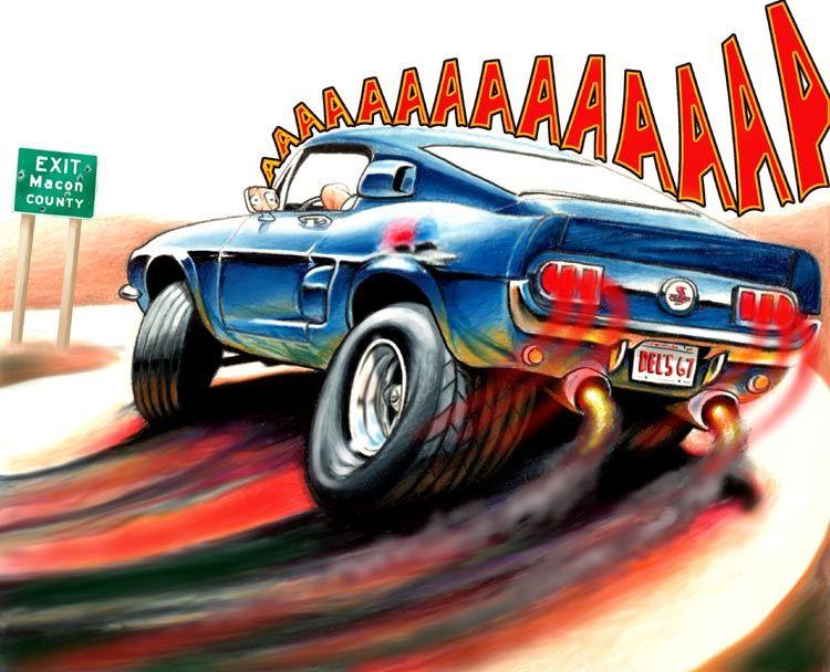 Cartoon Cars Cartoon Car Drawing