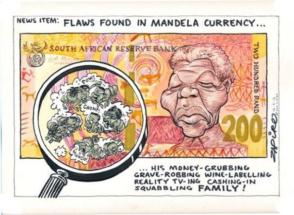 Zapiro Courtesy Of Cagle