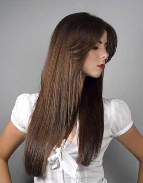 cortes de pelo largo liso de mujer buscar con google