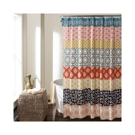 Home With Images Striped Shower Curtains Bohemian Shower