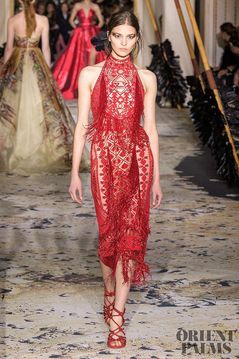 Zuhair murad springsummer couture in zuhair murad