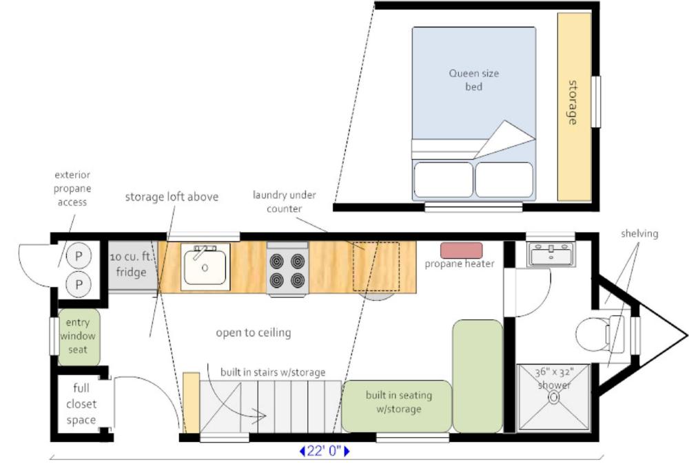 Our Layouts Floor Plans Tiny House Bathroom Small Bathroom Colors