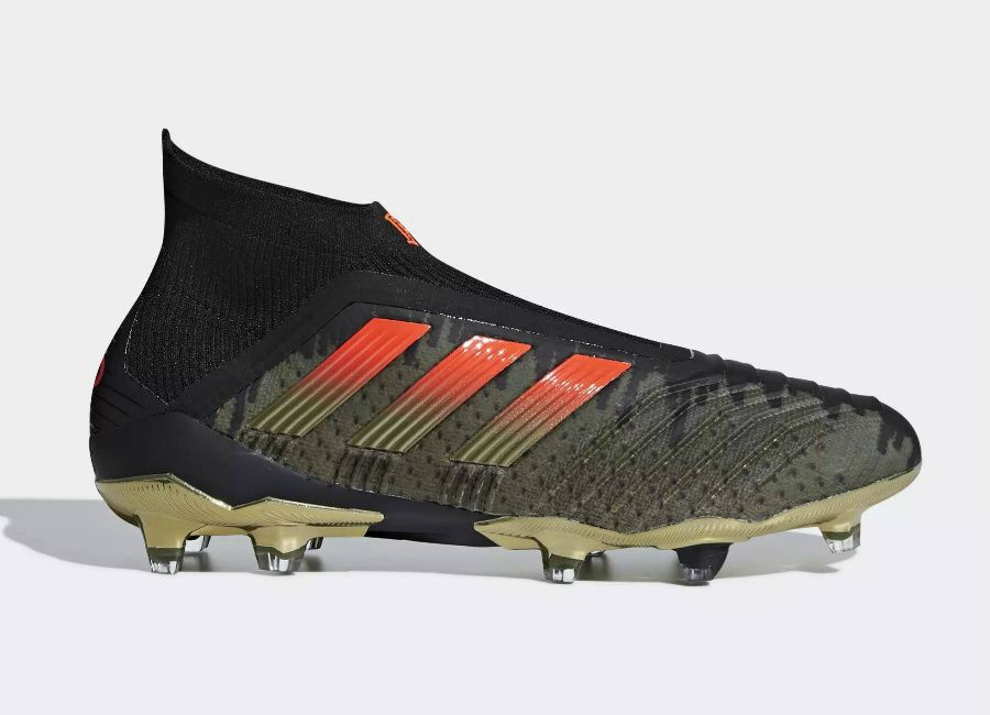 125ca53605a  PaulPogba  Pogba  adidasfootball Adidas Paul Pogba Predator 18+ Firm  Ground Boots - Olive Cargo   Core Black   Base Green