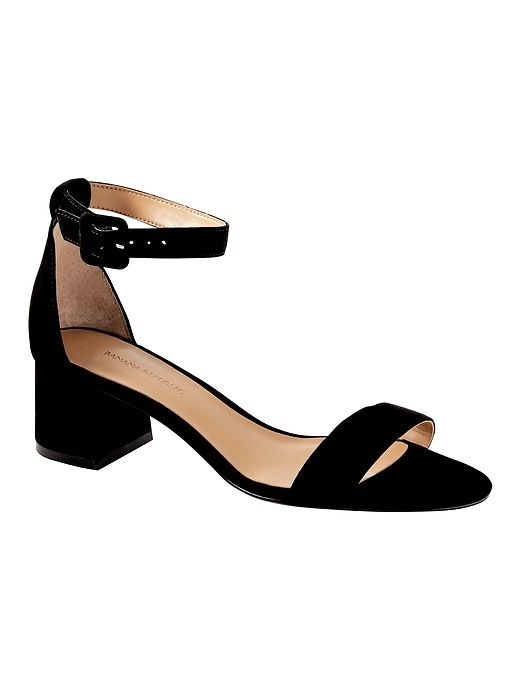 b24aed1a81 Banana Republic Bare Low Block-Heel Sandal in 2019   Products   Low ...