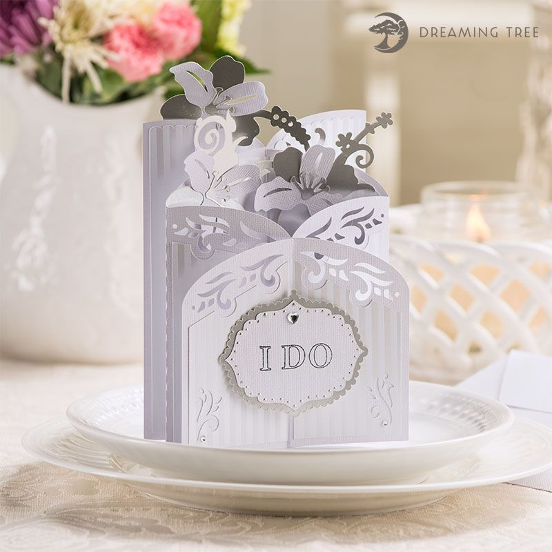 Lily Cascade Card Svg Dreaming Tree Birthday Card Template Free Cards Card Mailbox