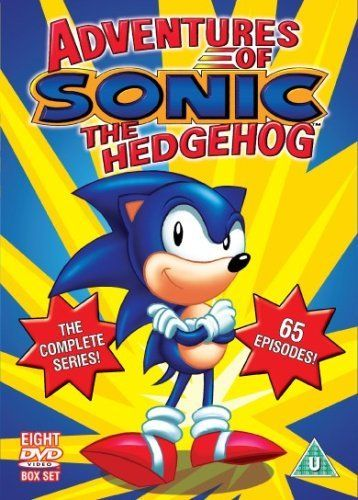 Sonic Adventures Of Sonic The Hedgehog The Complete Series Dvd Sonic Adventure Sonic Sonic The Hedgehog