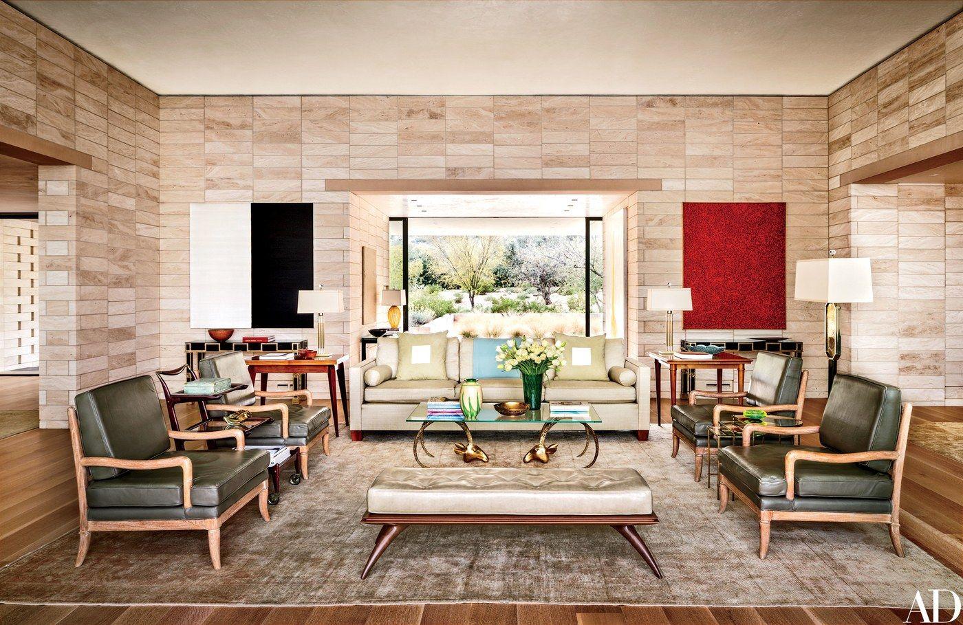 Arizona vacation home | Trendy living rooms, Contemporary ...