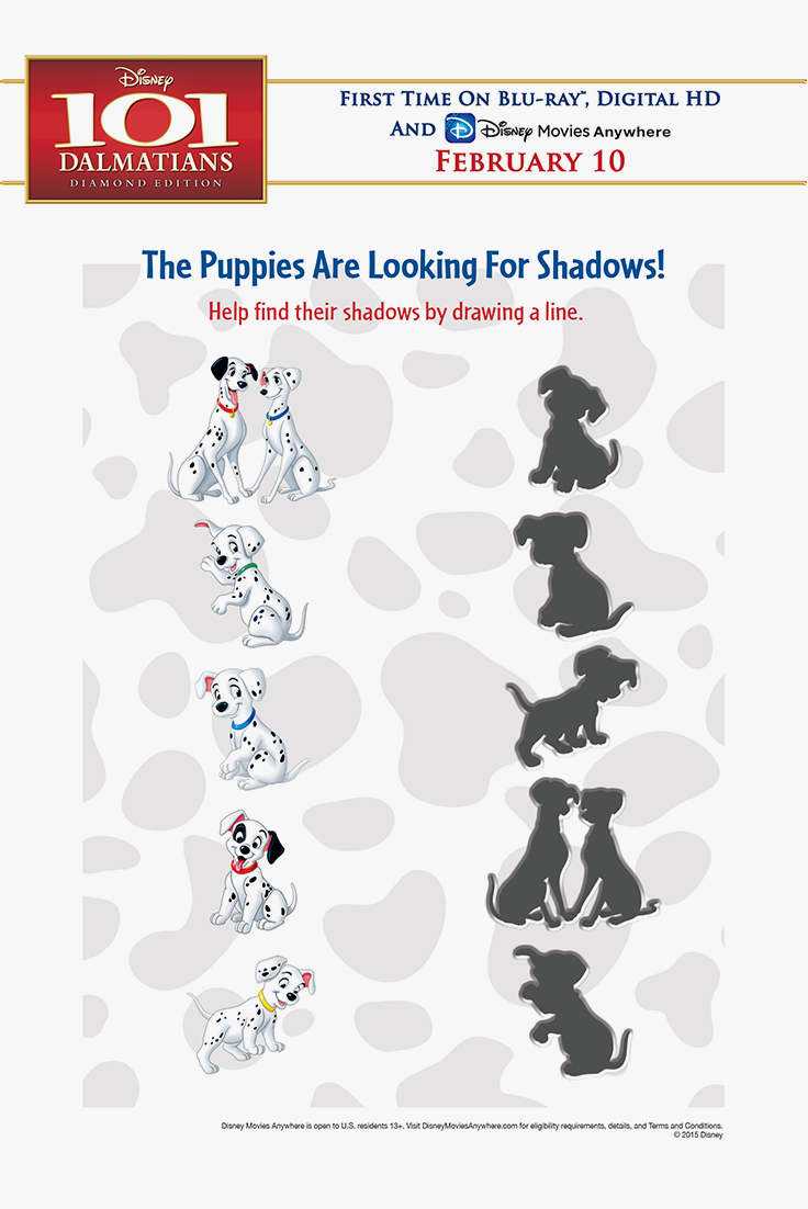 Fun Kids & Family Activities Help the Puppies find their