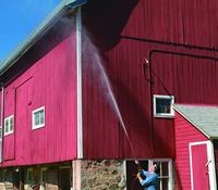 Safely Cleaning High Places Second Story Wash Pressure Washer Accessories