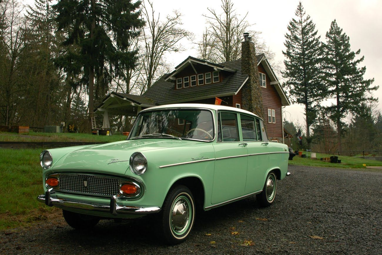 Mint green! Old Parked Cars.: Toyota Treasure Trove: 1965 Toyota ...