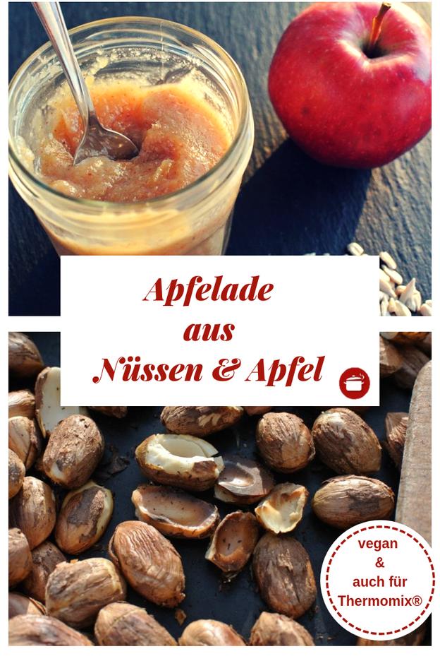 Apfelmarmelade mit Nuss