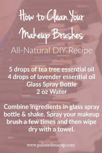 Photo of How to Clean Your Makeup Brushes using Essential Oils
