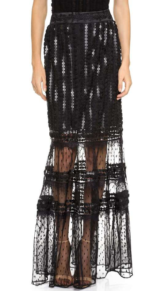 ALICE by Temperley Misty Maxi Skirt @gtl_clothing #getthelook http://gtl.clothing