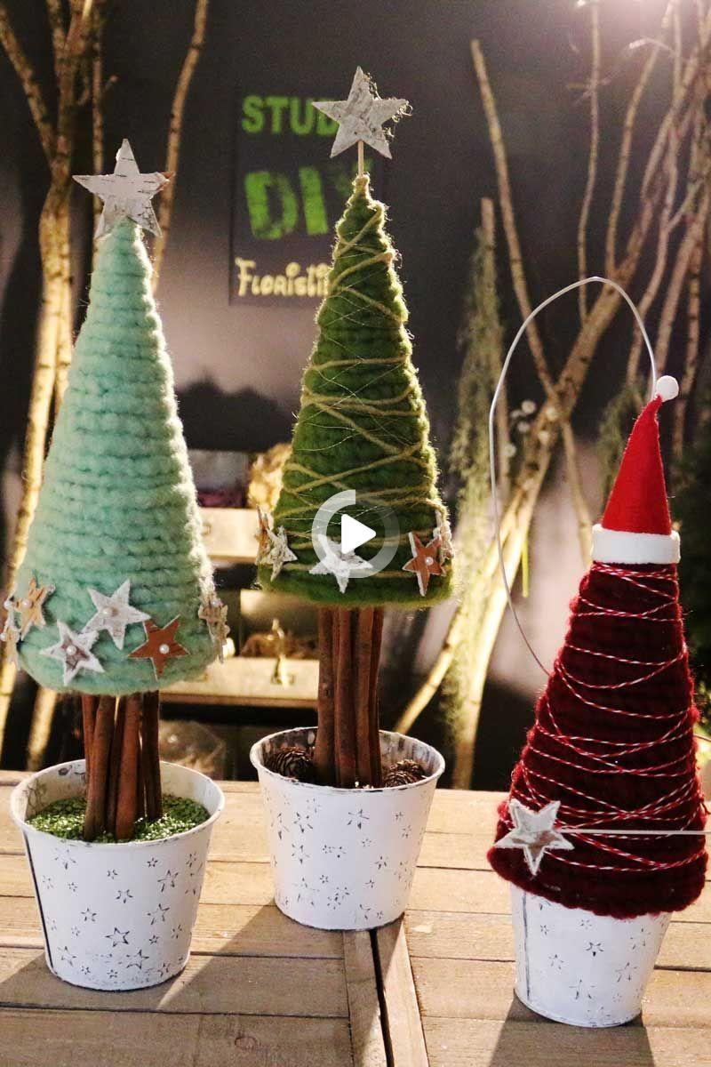 ♥ Shabby Chic ♥ Weihnachtsbaum Bäumchen Tanne  ♥ Vintage ♥ Weihnachten ♥