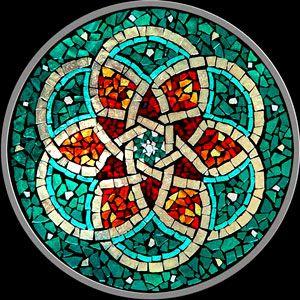 Mándalas Mandalas Mosaic Art Mosaic Y Mandala
