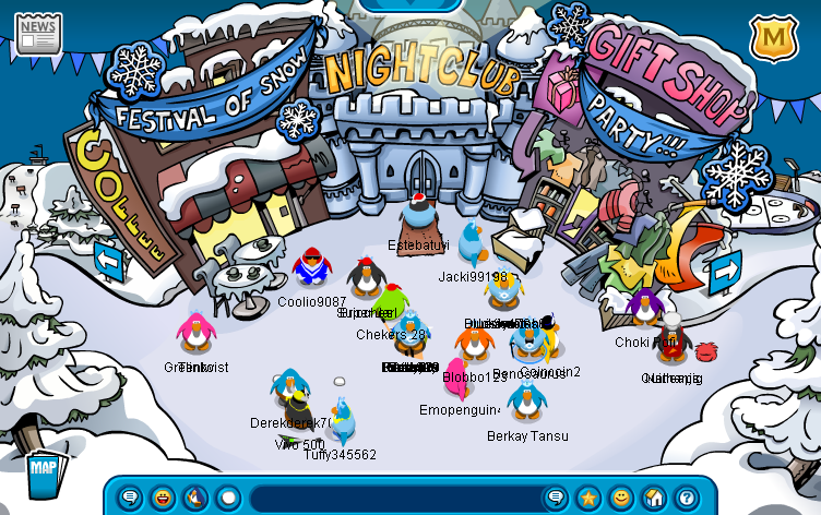 Club Penguin In February 2007 When I First Joined It On Miniclip Club Penguin Penguins Back In The Day