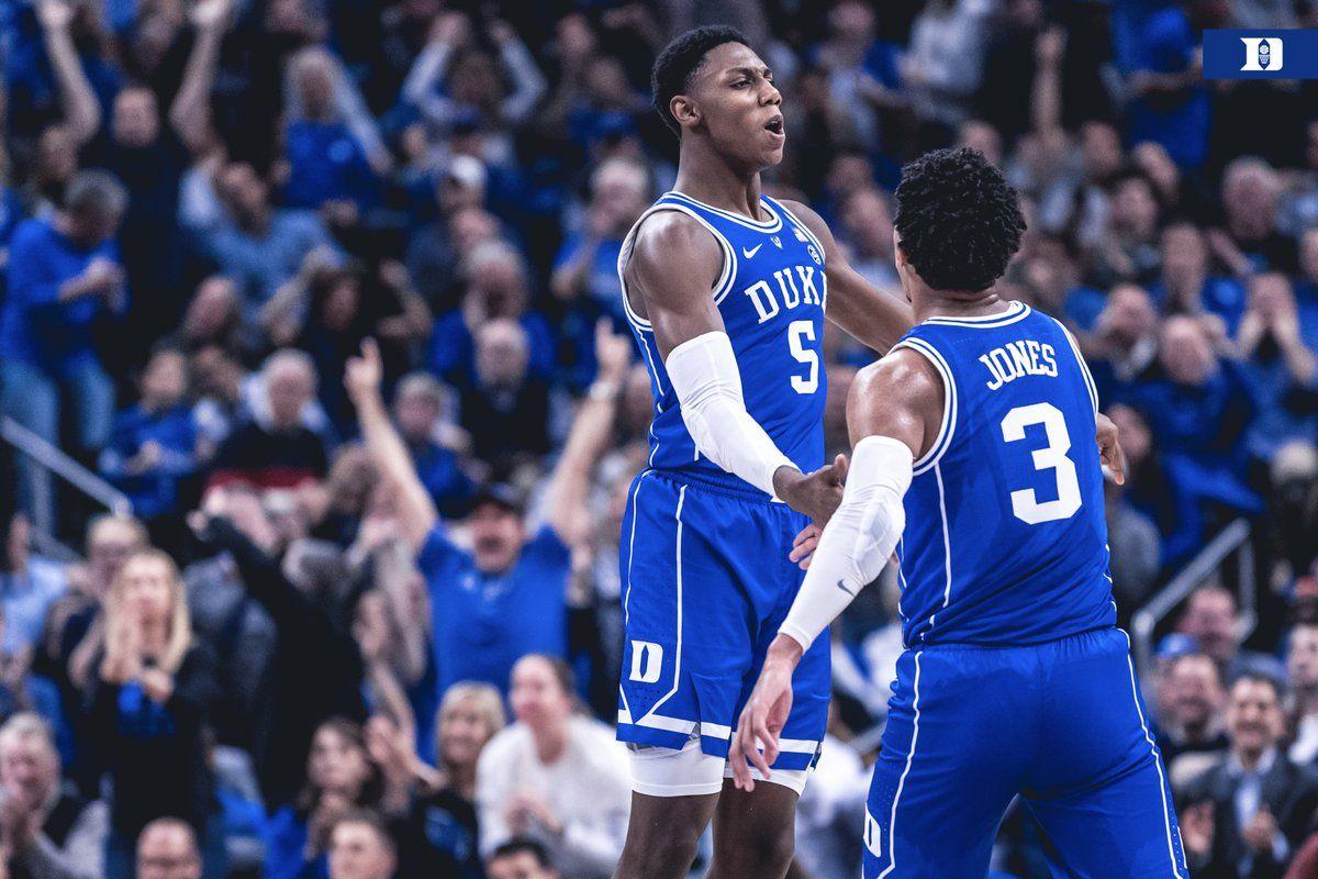 2018 CHAMPIONS CLASSIC Duke basketball, Duke, National