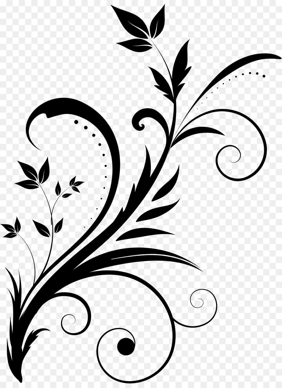 Drawing Clip Art Swirl Vector Png Is About Is About Monochrome Photography Artwork Monochrome Flow Flower Drawing Design Flower Drawing Doodle Art Flowers