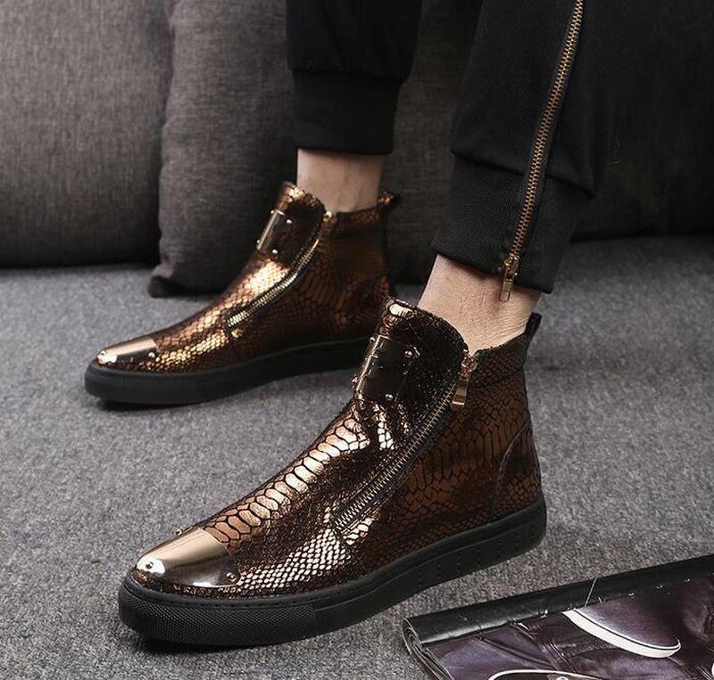 Mens nightclub shoes