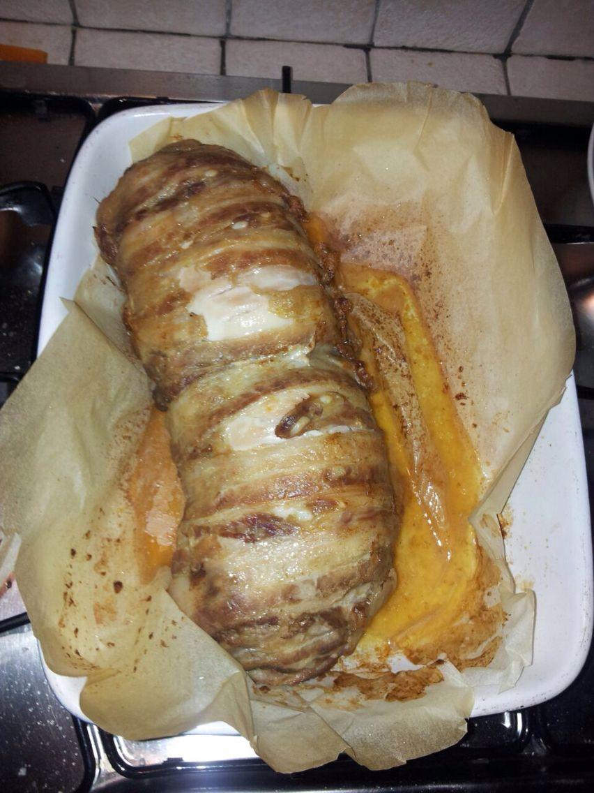 Coniglio porchettato al forno
