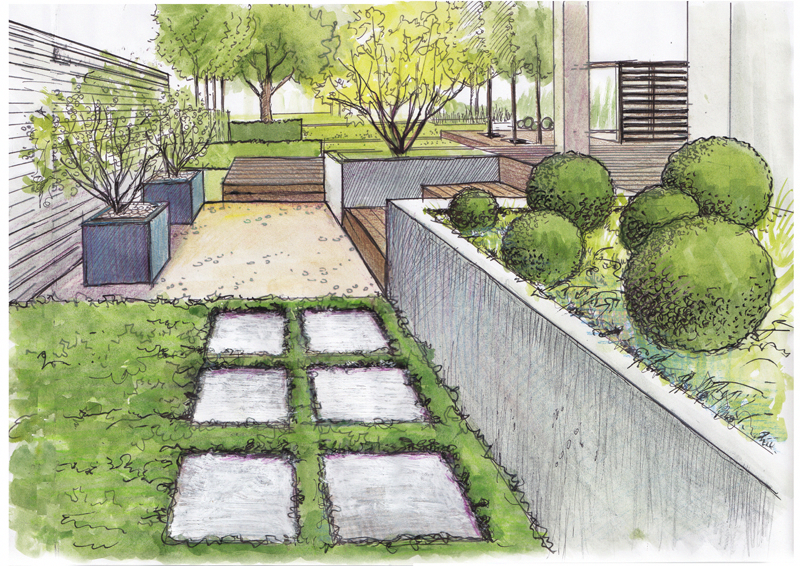 Visualization Of Gardens Automatic Irrigation Ogrodomania Landscapearchitecture Dibujo De Jardin Plano De Jardin Arquitectura Paisajista