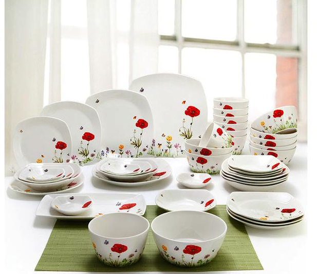 & Gibson Home Riverina 16-Piece Glass Dinnerware Set   Kitchen   Pinterest
